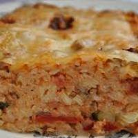 Maltese baked rice